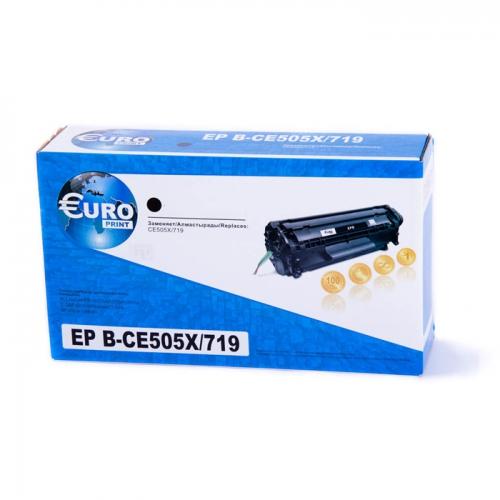Картридж HP CE505X /Canon 719H Euro Print Business