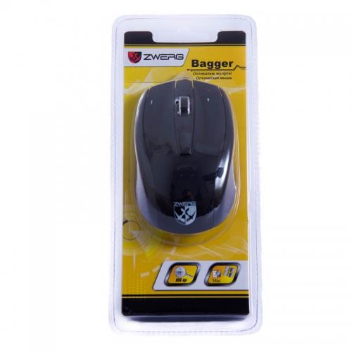 Мышь проводная оптическая Bagger Zwerg
