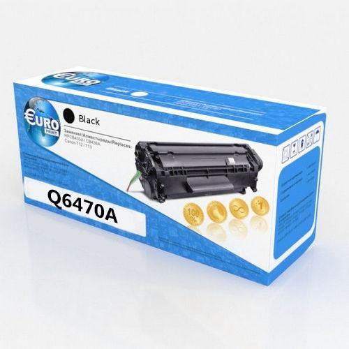Картридж HP Q6470A Black Euro Print Premium