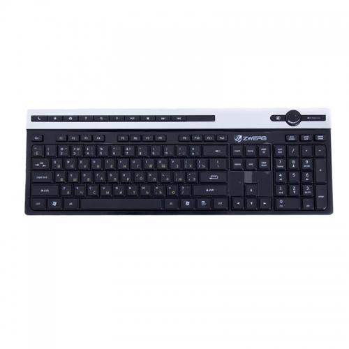 Клавиатура беспроводная мультимедийная Regent Zwerg