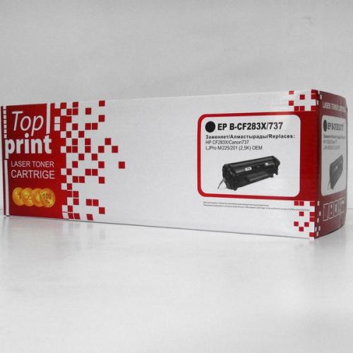 Картридж HP CF283X/Canon737 Top print