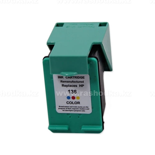 Картридж HP C9361HE Tri-color,№136 JET TEK