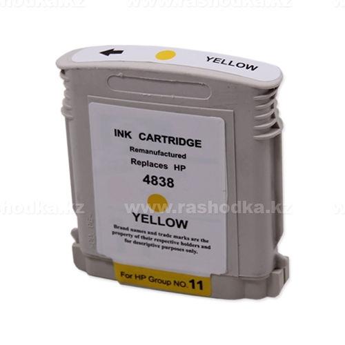 Картридж HP C4838AE Yellow,№11 JET TEK