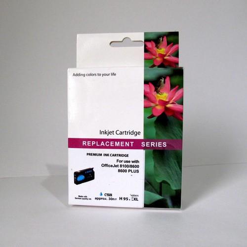 Картридж HP CN046AE Cyan №951XL JET TEK