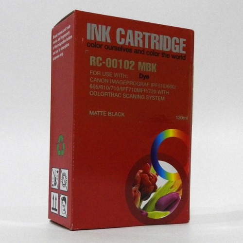 Картридж Canon PFI-102MBK Matte Black JET TEK