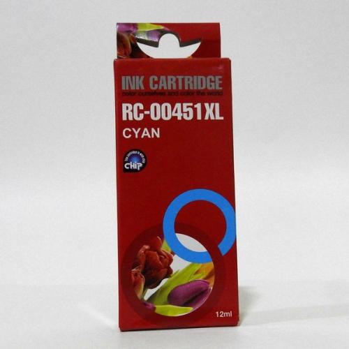 Картридж Canon CLI-451XLC Cyan JET TEK