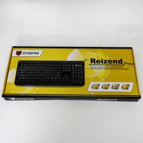 Клавиатура беспроводная мультимедийная Reizend Zwerg
