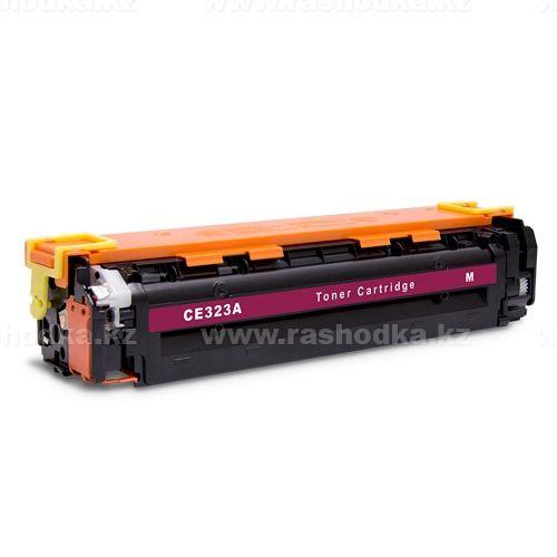 Картридж HP CE323A Magenta Retech