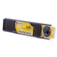 Комплект клавиатура+мышь беспроводной мультимедийный Luft Zwerg