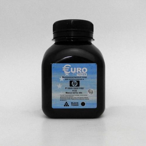 Тонер для HP P1005 chemical (65 гр) EURO TONER